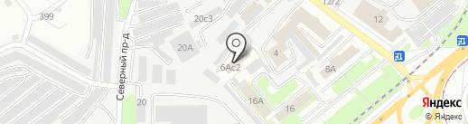 Магазин-склад обоев на карте Липецка