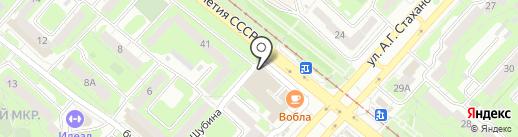 Шашлычный двор на карте Липецка
