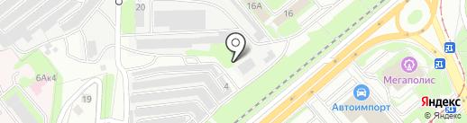 Стартер на карте Липецка
