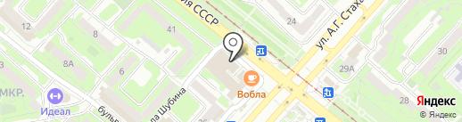 Ломбард ЦФП на карте Липецка