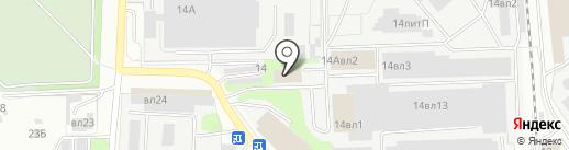 Аленка на карте Липецка