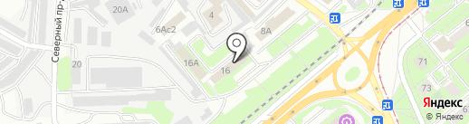 Государственный противопожарный надзор г. Липецка на карте Липецка