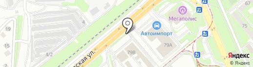 Orange Avto на карте Липецка