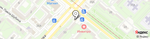 Ателье №1 на карте Липецка