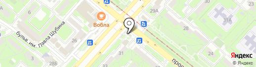 Центр финансовой поддержки на карте Липецка