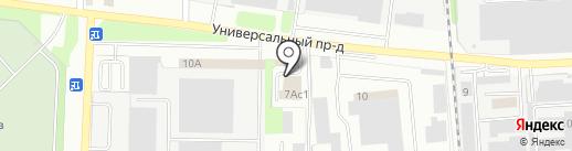 Широкий профиль на карте Липецка