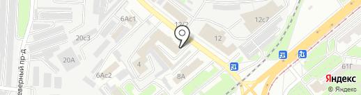 Бином-ТВ на карте Липецка
