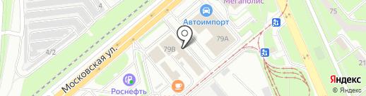 Елецкая на карте Липецка