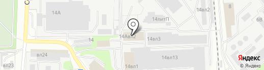 Авто-Гепард на карте Липецка