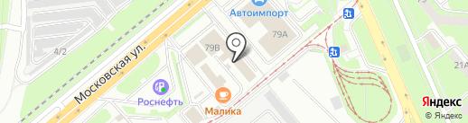 Лига Авто на карте Липецка