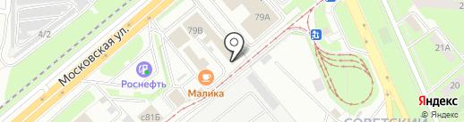 Лато 1 на карте Липецка