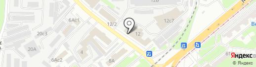 Салон-магазин дверей на карте Липецка