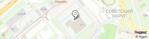 ЭкоПром-Липецк на карте Липецка