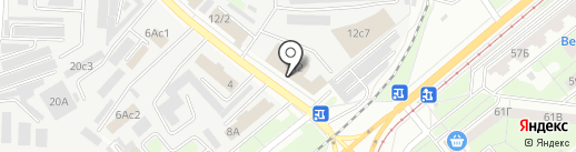 Сотовый базар на карте Липецка