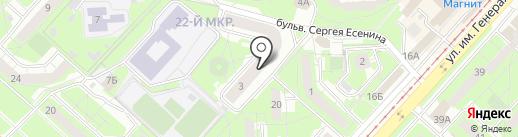 Салон врачебной косметологии на карте Липецка