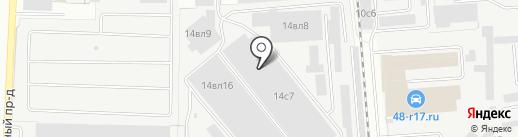 Мебельная Столица на карте Липецка
