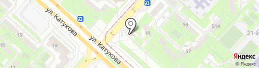 Дуэт на карте Липецка