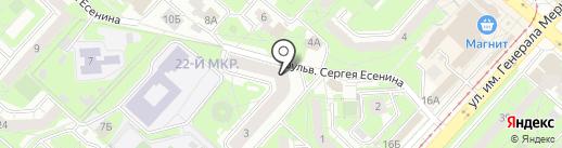 Магазин мебели на карте Липецка