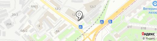 Колпак48 на карте Липецка