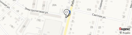 Рябинка на Рябиновой на карте Рыбного