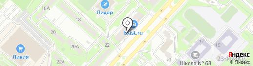 АкваТерм48 на карте Липецка