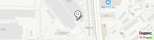 Авто-Рай на карте Липецка