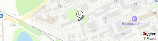 Мастерская на карте Липецка