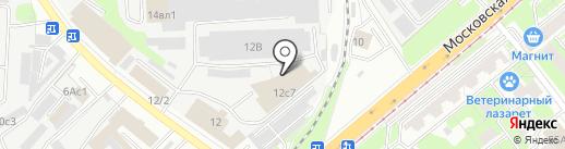 Autoline на карте Липецка