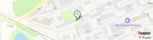 Голд Зебра на карте Липецка