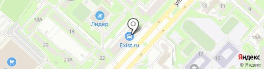 Багет Club на карте Липецка