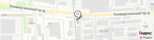 РемПластСервис на карте Липецка