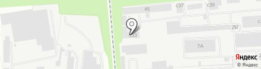 Авто-гир на карте Липецка