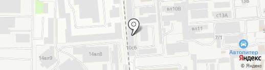 Мастер Дом на карте Липецка