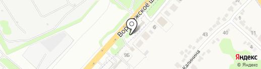 Антенны48 на карте Липецка