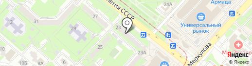 ОргТехСервис на карте Липецка