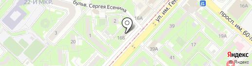 Агентство швейных услуг на карте Липецка
