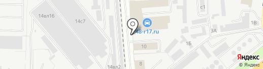 УАЗ Л на карте Липецка