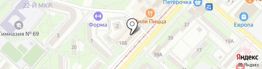 Miledi shop на карте Липецка