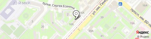 КоМОД на карте Липецка