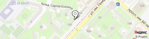 Супер киндер на карте Липецка
