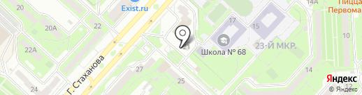 Добрая лавка на карте Липецка