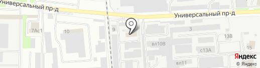 ЛипецкПолимер на карте Липецка