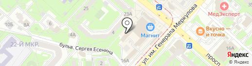 Квант-Электро на карте Липецка