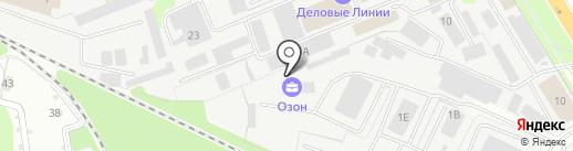 АркМеталл на карте Липецка