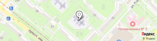 Детский сад №133 на карте Липецка