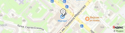 Юлмарт на карте Липецка