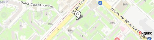 Стоматологическая клиника доктора Узловенко на карте Липецка