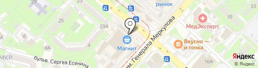 Владпромбанк на карте Липецка