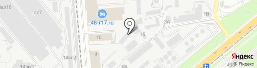 ТехАвто48 на карте Липецка