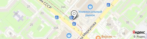 Гринвич на карте Липецка